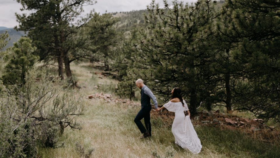 Planet Bluegrass Wedding | Lyons Colorado